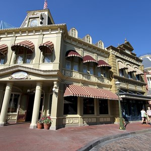 6 of 6: Main Street, U.S.A. - Center Street refurbishment complete
