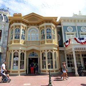 1 of 11: Main Street, U.S.A. - Main Street U.S.A facade refurbishments compelte