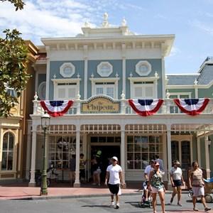 2 of 11: Main Street, U.S.A. - Main Street U.S.A facade refurbishments compelte