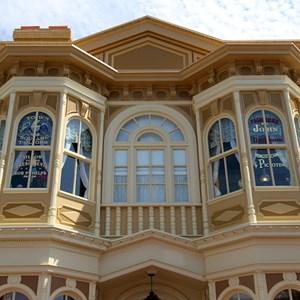 3 of 11: Main Street, U.S.A. - Main Street U.S.A facade refurbishments compelte
