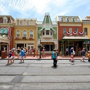 5 of 11: Main Street, U.S.A. - Main Street U.S.A facade refurbishments compelte