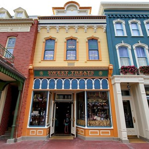 6 of 11: Main Street, U.S.A. - Main Street U.S.A facade refurbishments compelte