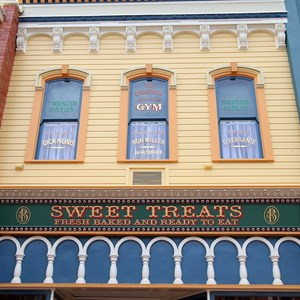 7 of 11: Main Street, U.S.A. - Main Street U.S.A facade refurbishments compelte