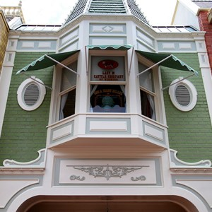 8 of 11: Main Street, U.S.A. - Main Street U.S.A facade refurbishments compelte