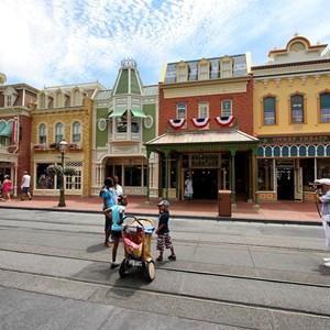 10 of 11: Main Street, U.S.A. - Main Street U.S.A facade refurbishments compelte