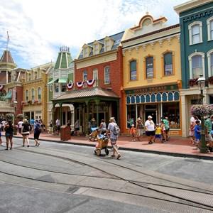 11 of 11: Main Street, U.S.A. - Main Street U.S.A facade refurbishments compelte