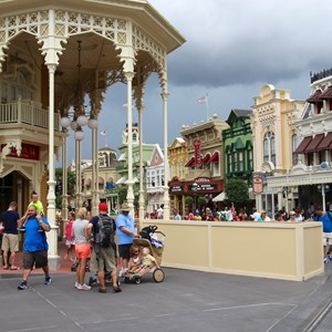 4 of 5: Main Street, U.S.A. - A new section is now being worked on