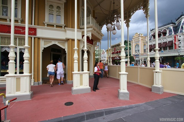 Main Street, U.S.A. - Completed section of new concrete