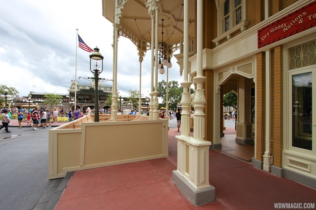 Main Street, U.S.A. - The work is moving out into the street