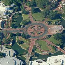 Magic Kingdom hub modification plans