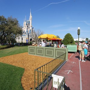 1 of 10: Main Street, U.S.A. - Magic Kingdom hub redevelopment construction