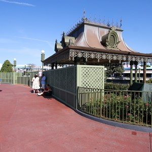 3 of 10: Main Street, U.S.A. - Magic Kingdom hub redevelopment construction