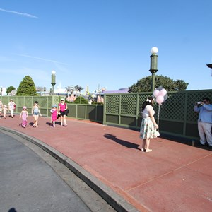 4 of 10: Main Street, U.S.A. - Magic Kingdom hub redevelopment construction