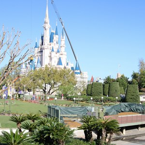 2 of 11: Main Street, U.S.A. - Magic Kingdom hub redevelopment construction