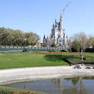 8 of 11: Main Street, U.S.A. - Magic Kingdom hub redevelopment construction