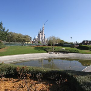 9 of 11: Main Street, U.S.A. - Magic Kingdom hub redevelopment construction