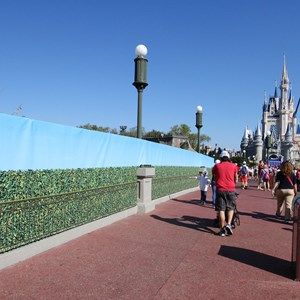 10 of 11: Main Street, U.S.A. - Magic Kingdom hub redevelopment construction