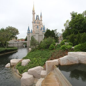 4 of 4: Main Street, U.S.A. - Magic Kingdom moat refilled