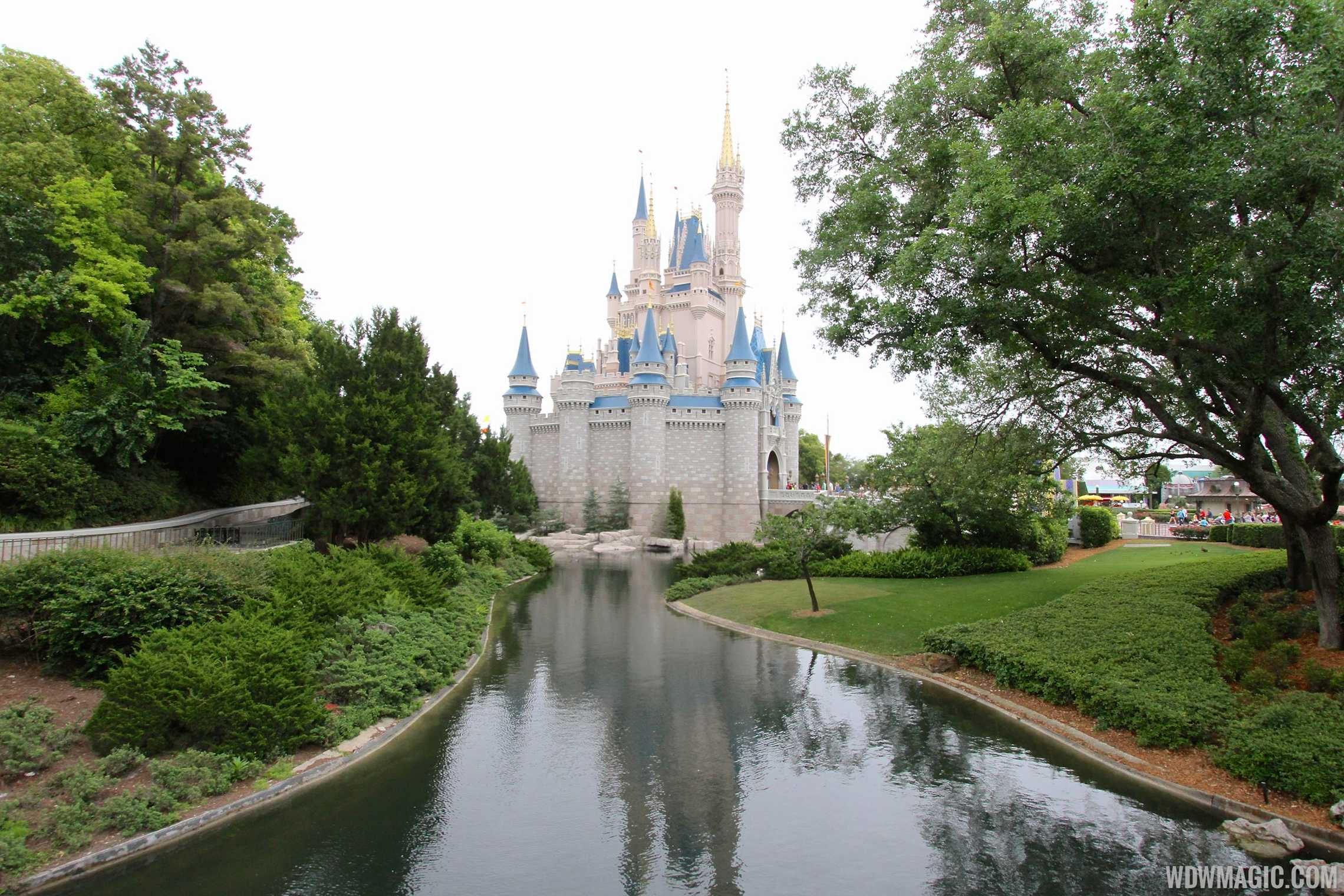 Water back in the Magic Kingdom's waterways