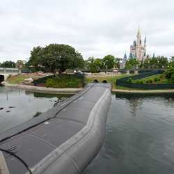 Magic Kingdom waterway dam