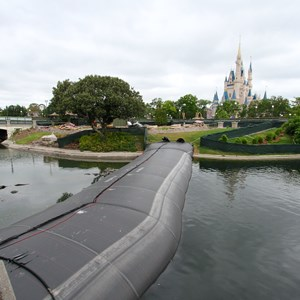2 of 3: Main Street, U.S.A. - Magic Kingdom waterway dam