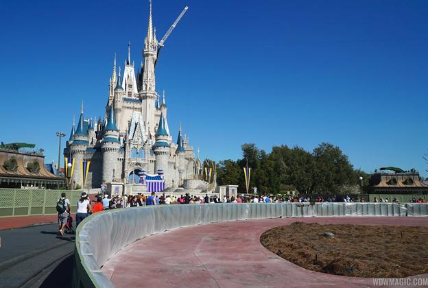 Magic Kingdom central hub area redevelopment