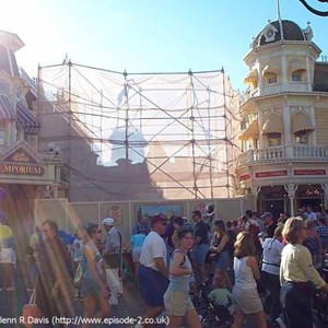 1 of 1: Main Street, U.S.A. - Main Street Emporium construction photos