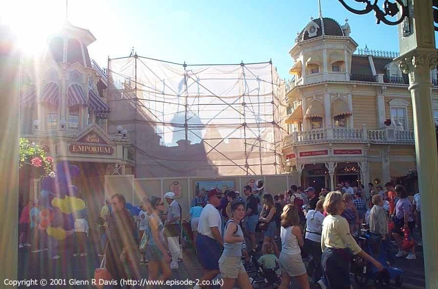 Main Street Emporium construction photos
