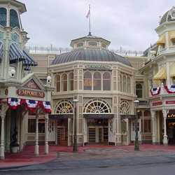 Main Street Emporium construction
