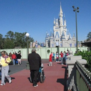 1 of 5: Main Street, U.S.A. - Hub area refurbishment
