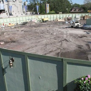 3 of 5: Main Street, U.S.A. - Hub area refurbishment