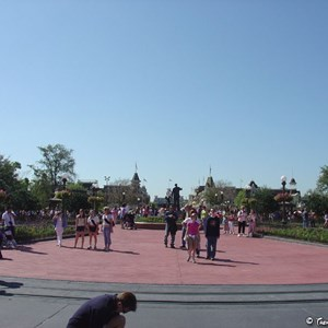 2 of 2: Main Street, U.S.A. - Hub area refurbishment complete