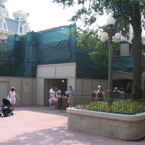 3 of 5: Main Street, U.S.A. - Main Street Train Station and Town Hall area refurbishment