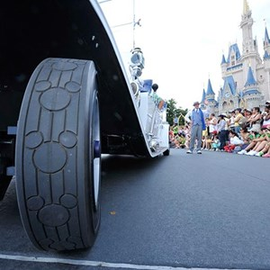 1 of 2: Main Street, U.S.A. - New Grand Marshal vehicle debuts in the Magic Kingdom