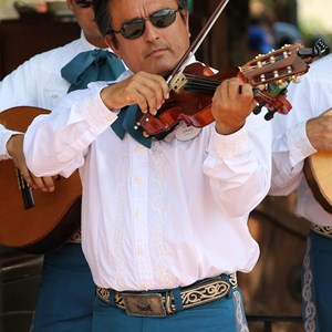5 of 8: Mariachi Cobre - Outside performance