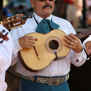 6 of 8: Mariachi Cobre - Outside performance