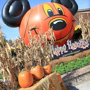 4 of 10: Marketplace - Downtown Disney halloween decorations