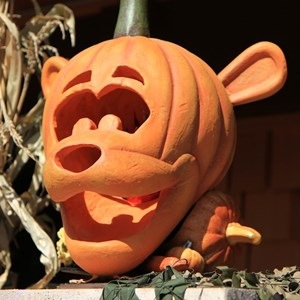 6 of 10: Marketplace - Downtown Disney halloween decorations