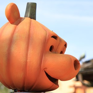 8 of 10: Marketplace - Downtown Disney halloween decorations