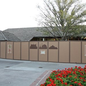 1 of 2: Marketplace - Pooh Corner, Summer Sand, Mickey Mart demolition