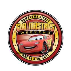 'Downtown Disney Car Masters Weekend' logo