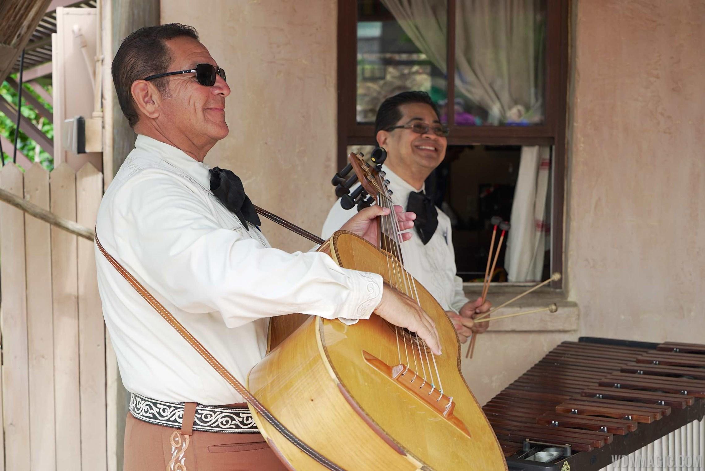 Mexican Marimba Trio performance