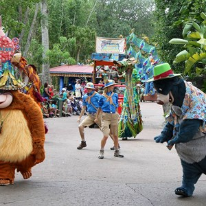 2 of 48: Mickey's Jammin' Jungle Parade - Mickey's Jammin' Jungle Parade