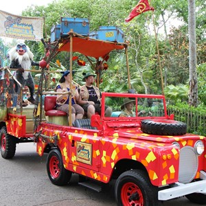 4 of 48: Mickey's Jammin' Jungle Parade - Mickey's Jammin' Jungle Parade