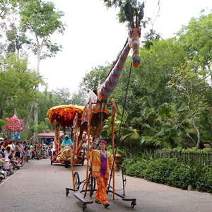 8 of 48: Mickey's Jammin' Jungle Parade - Mickey's Jammin' Jungle Parade
