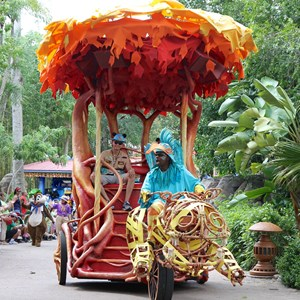 9 of 48: Mickey's Jammin' Jungle Parade - Mickey's Jammin' Jungle Parade