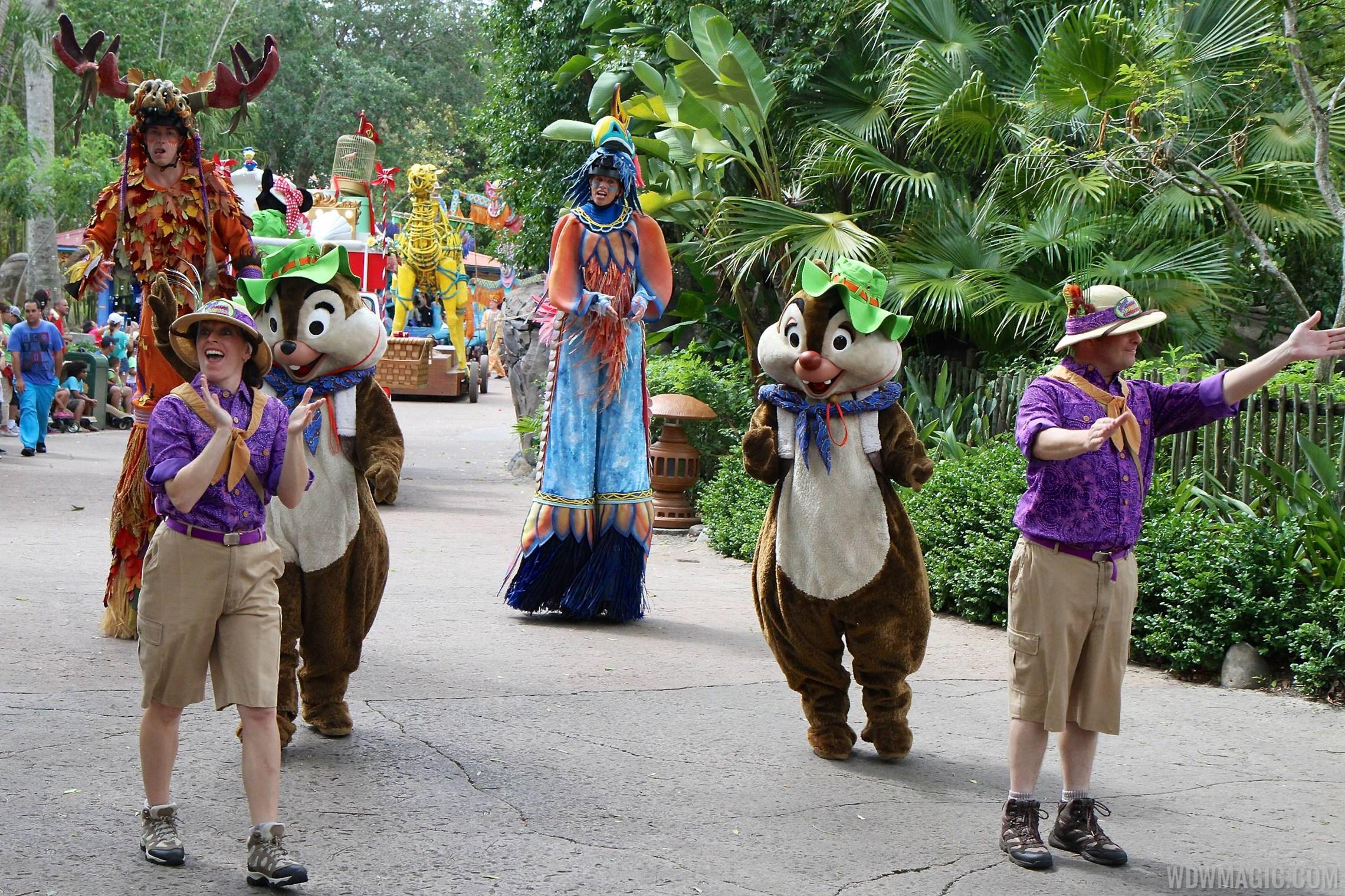 Mickey's Jammin' Jungle Parade