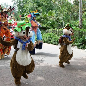 13 of 48: Mickey's Jammin' Jungle Parade - Mickey's Jammin' Jungle Parade