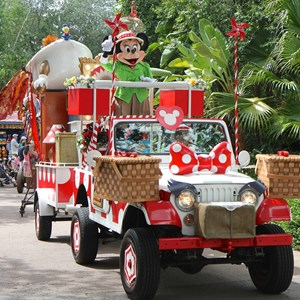 14 of 48: Mickey's Jammin' Jungle Parade - Mickey's Jammin' Jungle Parade