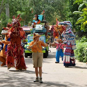 23 of 48: Mickey's Jammin' Jungle Parade - Mickey's Jammin' Jungle Parade